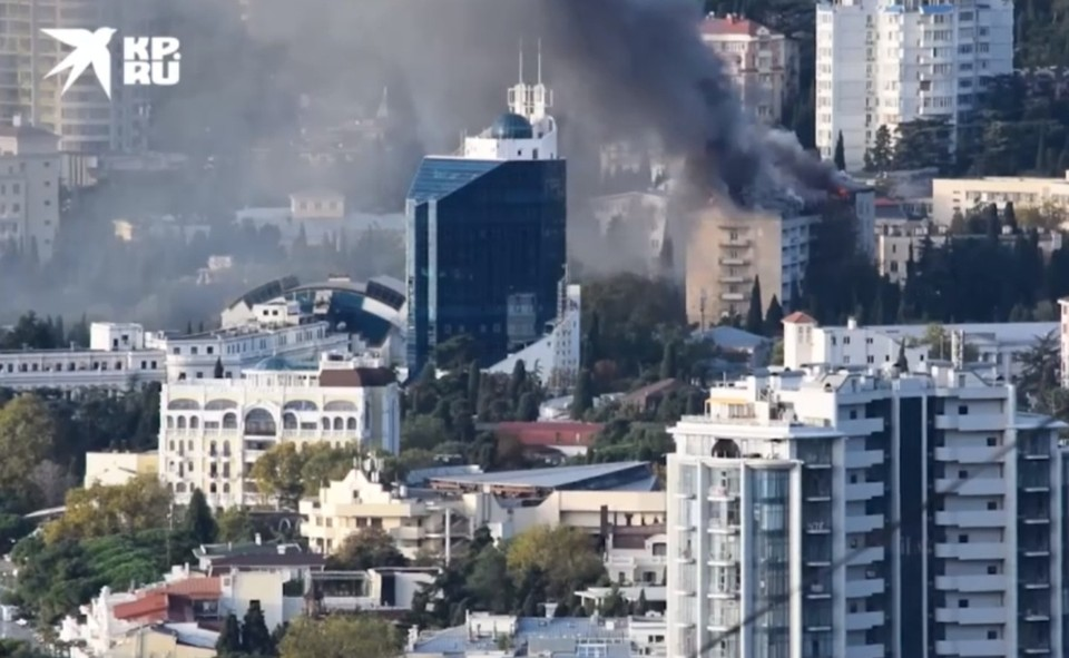 """Пожар полностью потушили в 9.28. Фото: Архив """"КП""""."""