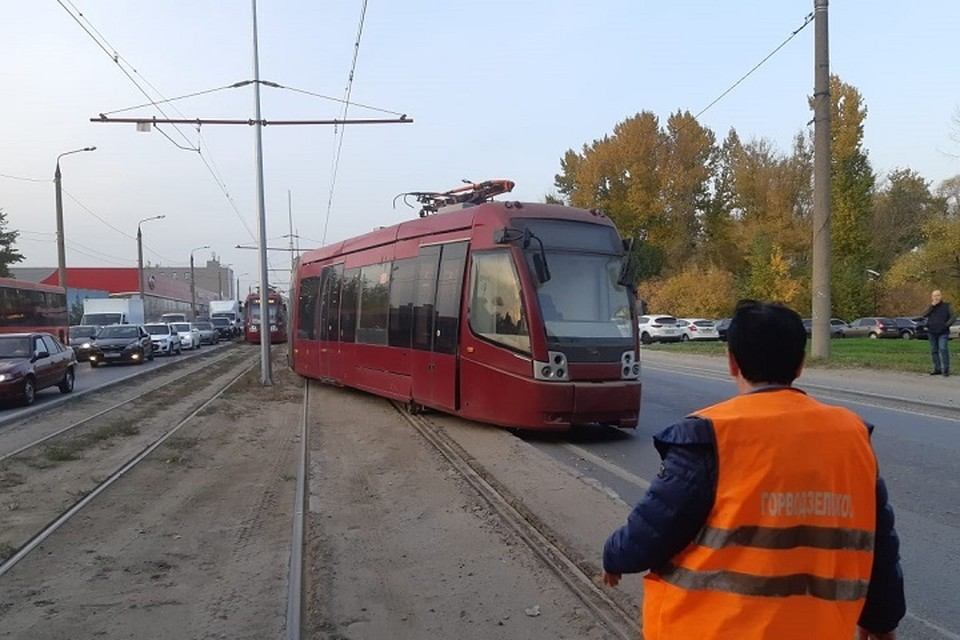 По предварительным данным, у трамвая отказали тормоза. Фото: ЗПСО №2