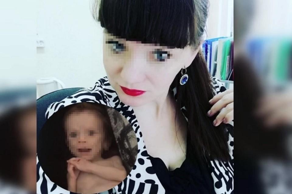 Истощенную малышку нашли подруги матери