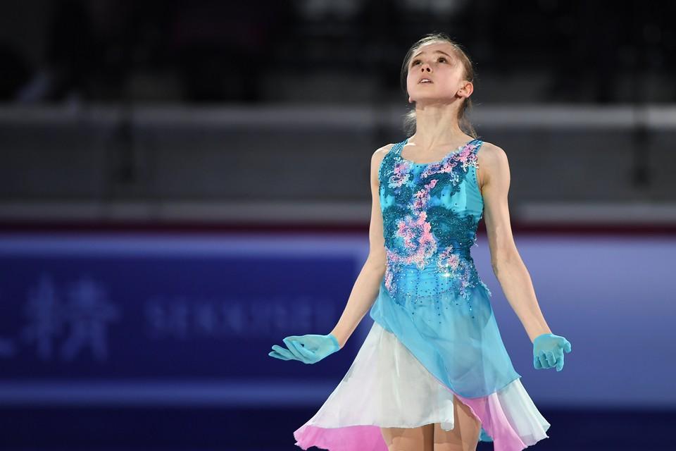 Камила Валиева.