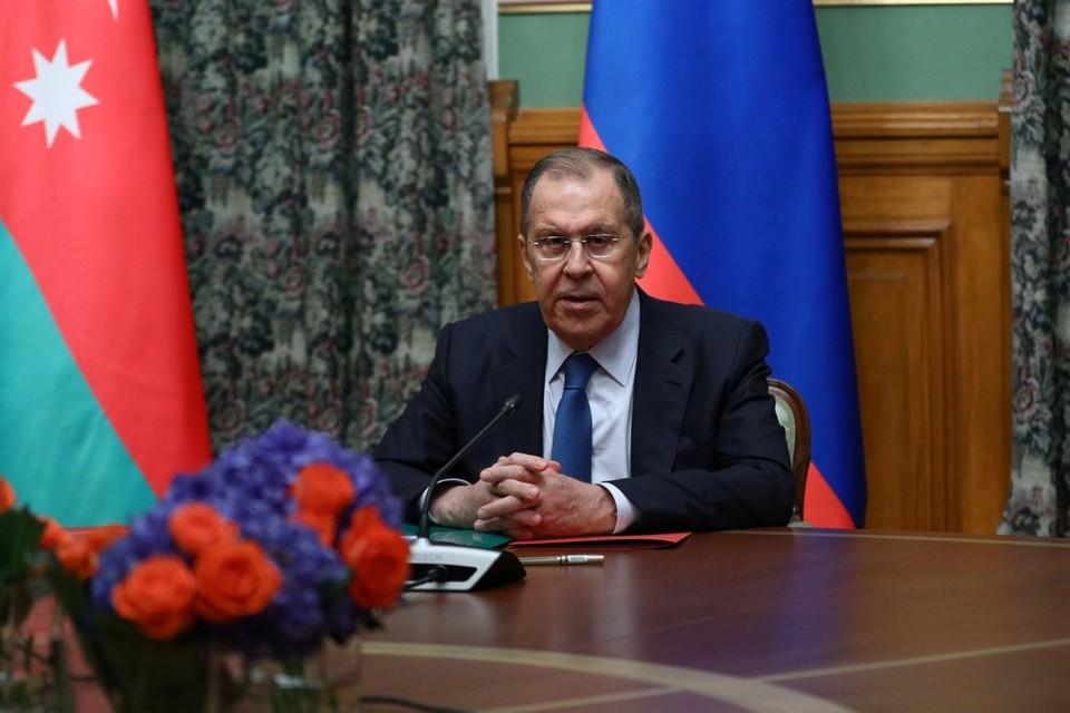 Глава МИД РФ Сергей Лавров рассказал журналистам об итогах переговоров