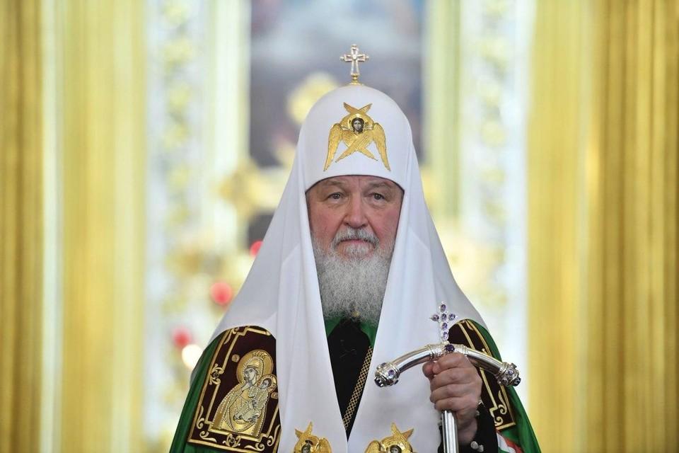 Тест на коронавирус патриарха Кирилла оказался отрицательным