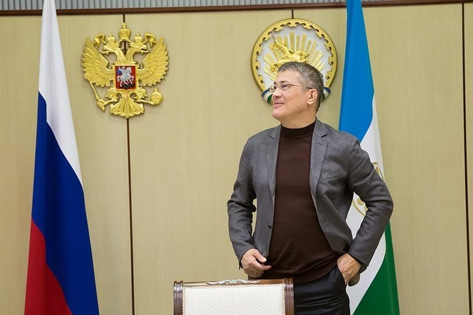 Радий Хабиров: «Все башкортостанцы – свои. И за каждого я готов рвать глотку»