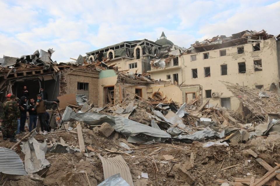 Власти Нагорного Карабаха сообщили о 25 погибших. Фото: Предоставлено посольством Азербайджана в России