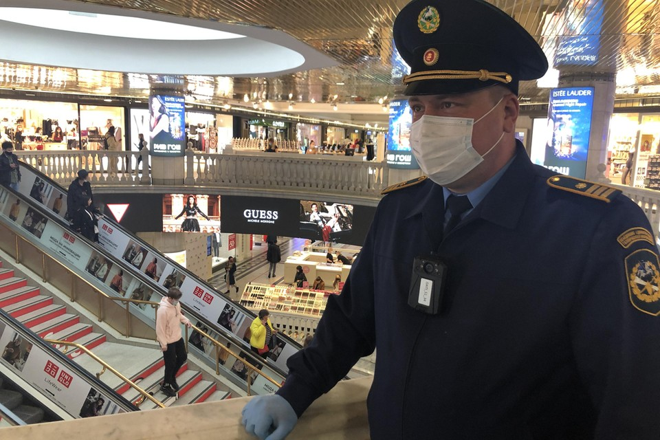 Была проведена проверка торгового центра. Фото: Департамент торговли и услуг