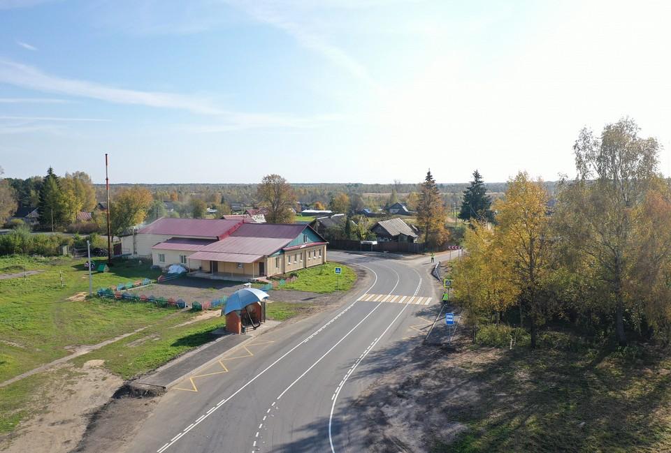 Завершен ремонт участка автодороги Тверь-Рождествено-1-е Мая-Ильинское