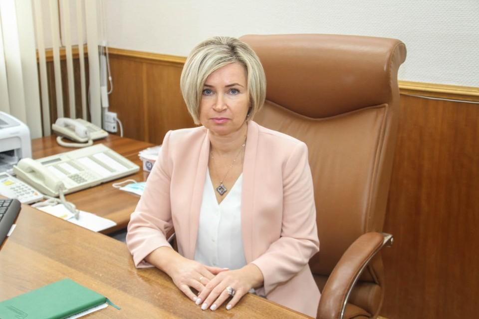 В Смоленске социальную сферу возглавила Светлана Белова. Фото: администрация г. Смоленска.