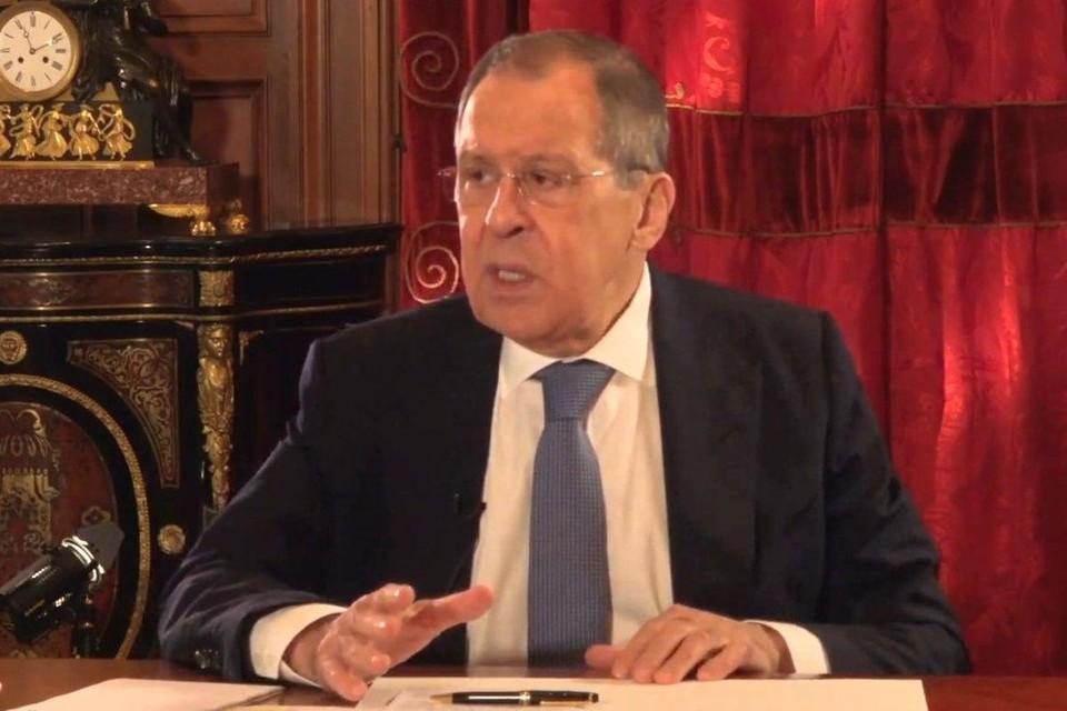 Сергей Лавров прокомментировал угрозы введения санкций со стороны Запада