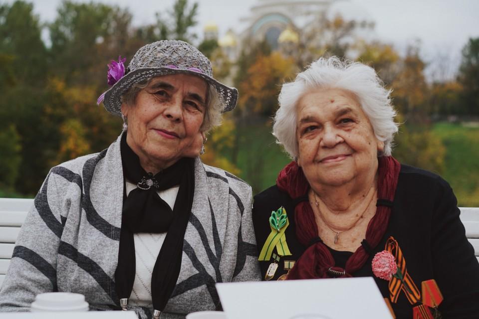 Жительницы блокадного Ленинграда рассказали о своей жизни в проекте «Давно не виделись». Фото: Ольга Проскурина.