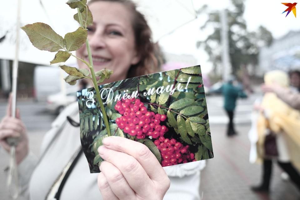 Марш матерей состоялся в Минске 14 октября.