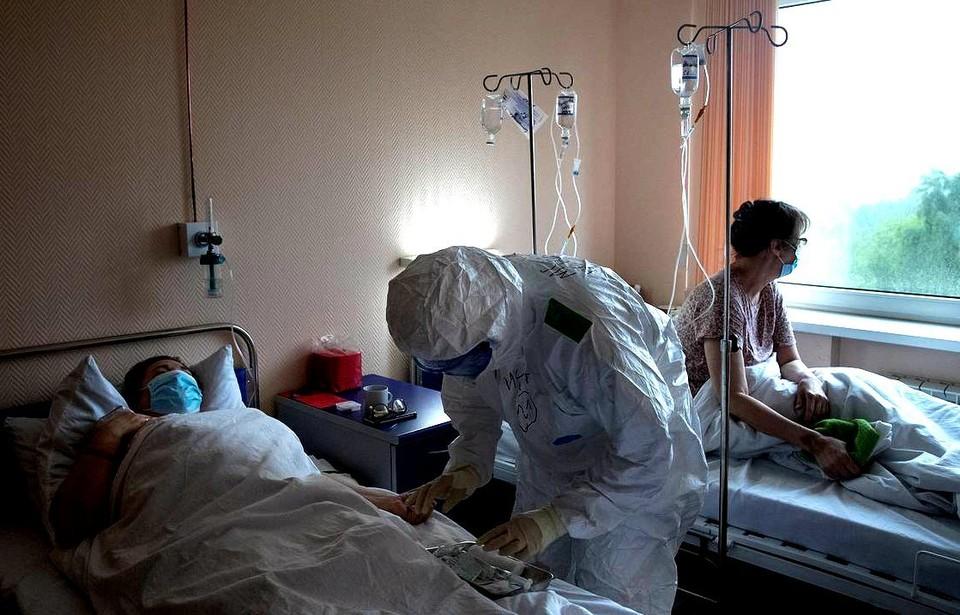 """Количество заболевших """"короной"""" в Томской области за сутки стало больше, чем накануне"""