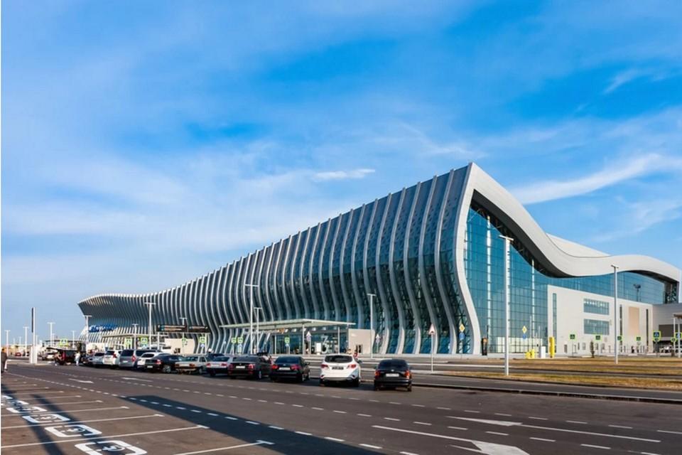 """Новый аэровокзальный комплекс открыли в 2018 году. Фото: пресс-служба аэропорта """"Симферополь"""""""