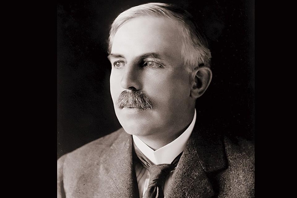 Гениальный ученый Эрнест Резерфорд. Фото: wikimedia.com