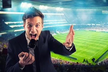 Ищем новых Озеровых и Маслаченко: «МАТЧ!» объявляет конкурс молодых спортивных комментаторов