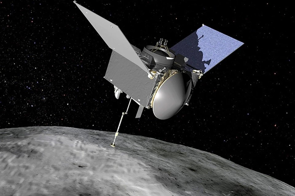 Компьютерное моделирование работы зонда OSIRIS-REx