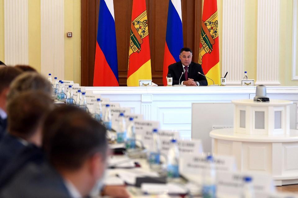 Игорь Руденя отметил, что в экономике «удалось сохранить запас прочности, который формировался прошедшие четыре года». Фото: ПТО