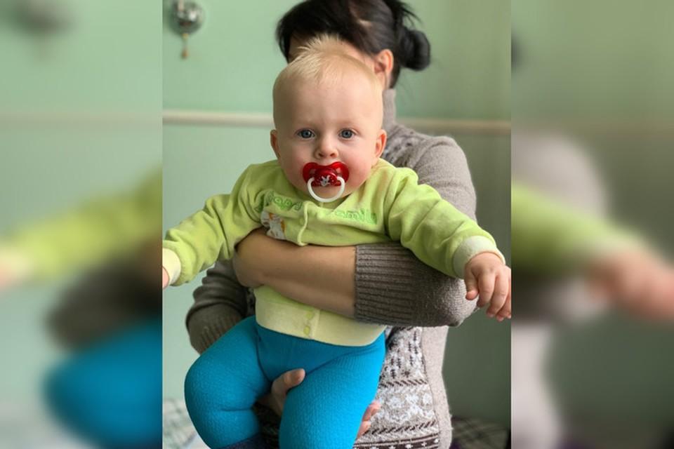 В Донецке на лечение Карима Чайки (8 месяцев) собрали 288 тысяч рублей. Фото: Время добрых