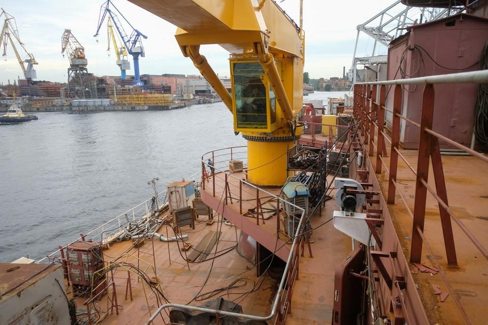 Петербургские верфи строят суда для Северного морского пути