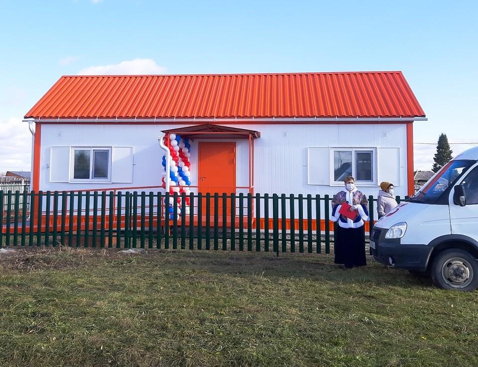 Еще один smart-ФАП начинал работать в Нижнетавдинском районе. Фото - Дарья Ровбут.