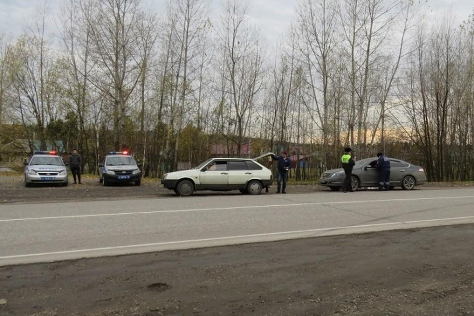 В Кузбассе пройдут массовые проверки водителей. Фото: ГИБДД Кузбасса