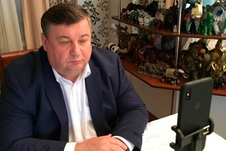 Мэр Канска Андрей Береснев заразился коронавирусом. Фото: инстаграм Андрея Береснева