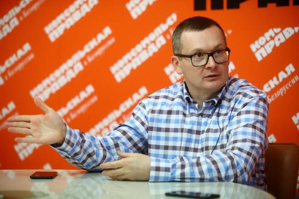 Координатор оппозиционного штаба Виктора Бабарико, бизнесмен - Юрий Воскресенский. Фото: Иван Иванов