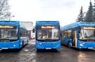 Новые автобусы вышли на маршруты в Новокузнецке досрочно