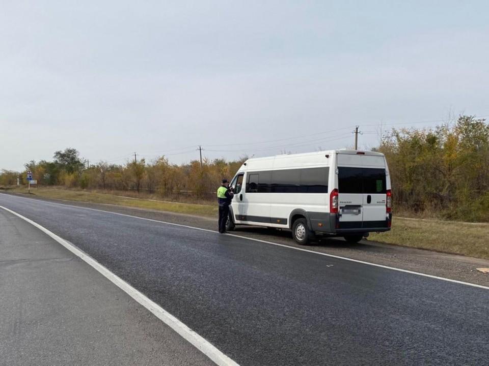 В Самарской области проверили водителей автобуса