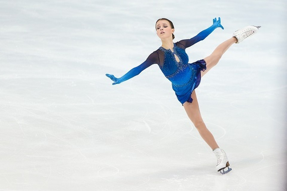 Анна Щербакова на Кубке России в Сочи Фото: Федерация фигурного катания на коньках России