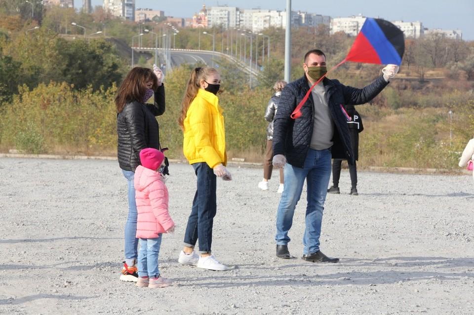 Хорошая погода по итогу помогла более чем 50 семьям нашего города хорошо провести свое время в кругу семьи и отметить День флага