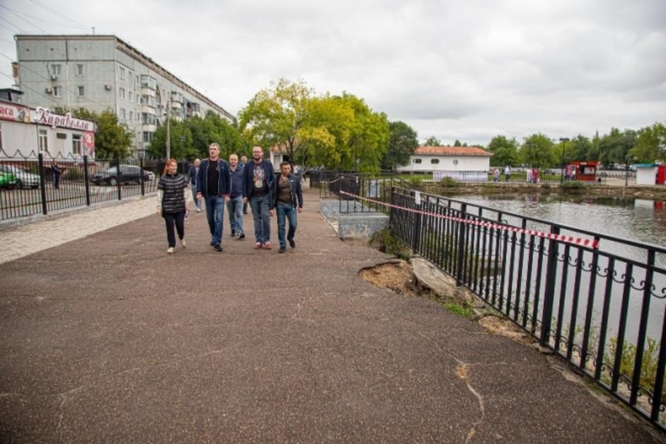 """Берегоукрепление в парке """"Дружба"""" начнется в этом году Фото: администрация Благовещенска"""