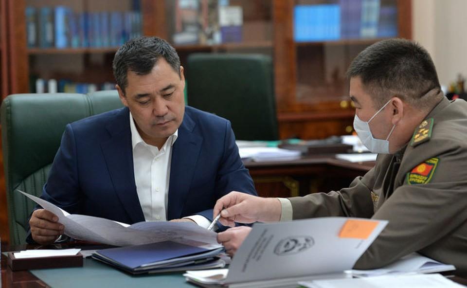 Председатель ГПС доложил премьеру об инциденте в селе Уч-Добо Баткенского района, произошедшем 25 октября.