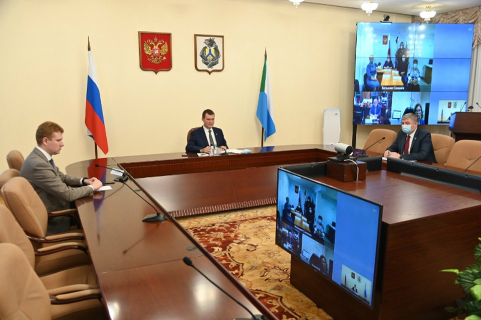 Михаил Дегтярев преодолел отметку в 100 дней на посту главы Хабаровского края
