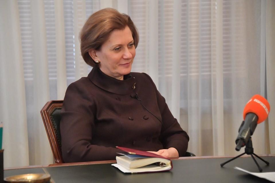 Попова отметила, что согласно данным оперативного штаба ситуация с коронавирусом в стране ухудшается.