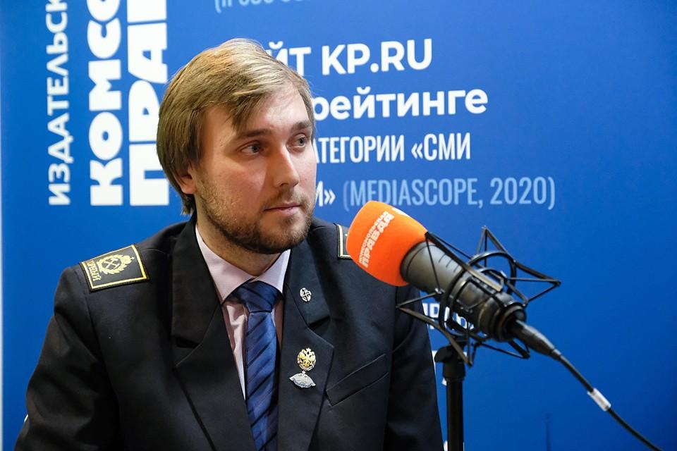 Александр Данилов, заместитель заведующего кафедрой геоэкологии Санкт-Петербургского горного университета