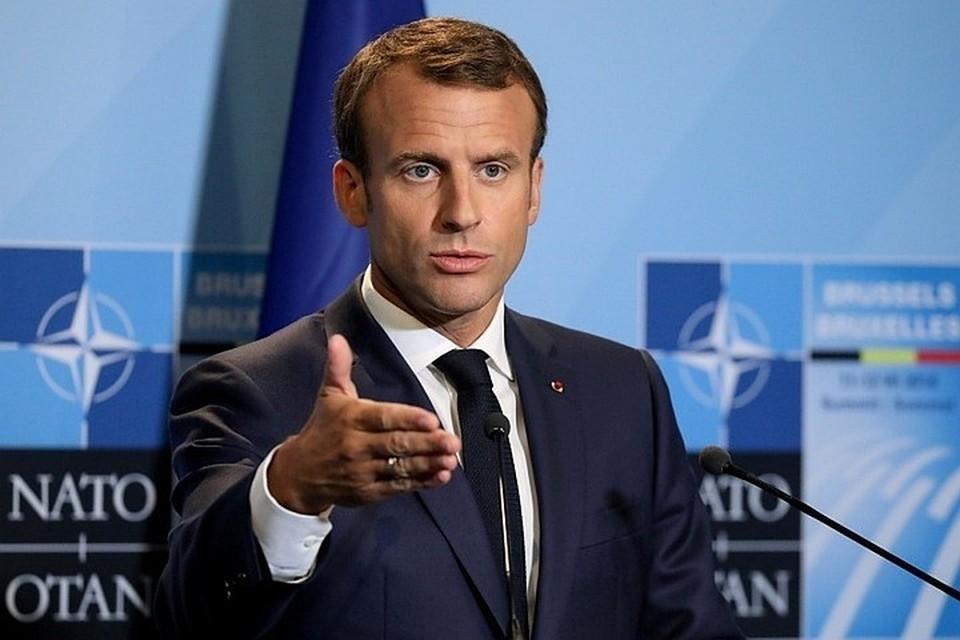 Эммануэль Макрон объявил о введении карантина во Франции с 30 октября