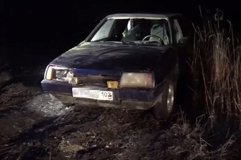 Водитель после ДТП спрятал машину в лесу