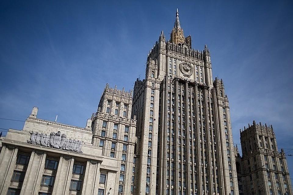 В МИД заявили, что Москва располагает информацией об управлении дестабилизацией ситуации в Белоруссии из Украины