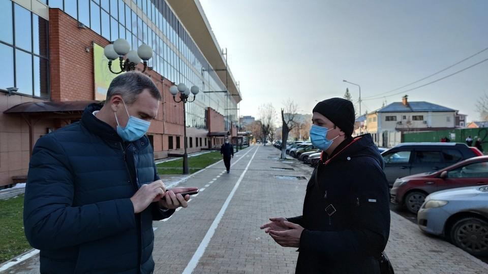 """Мэр Тюмени поручил сделать удобной велодорожку на улице Ямской . Фото - """"Тюмень - наш дом"""" в ВК."""