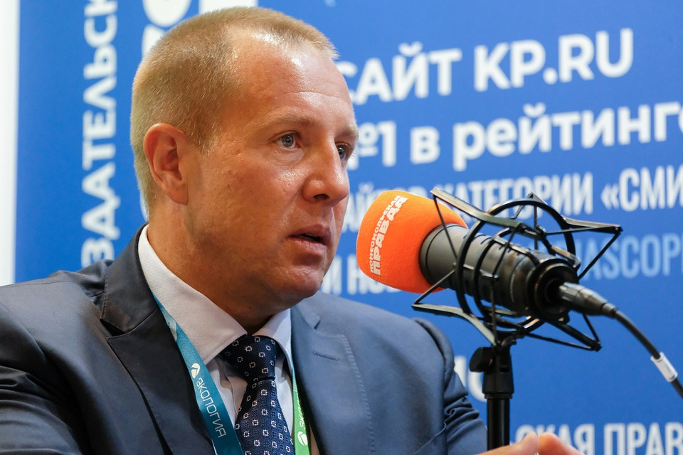 Генеральный директор МНПЗ Виталий Зубер.