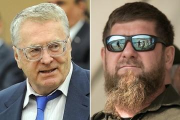«Ни мандат, ни деньги тебе не помогут»: Кадыров потребовал извинений от Жириновского
