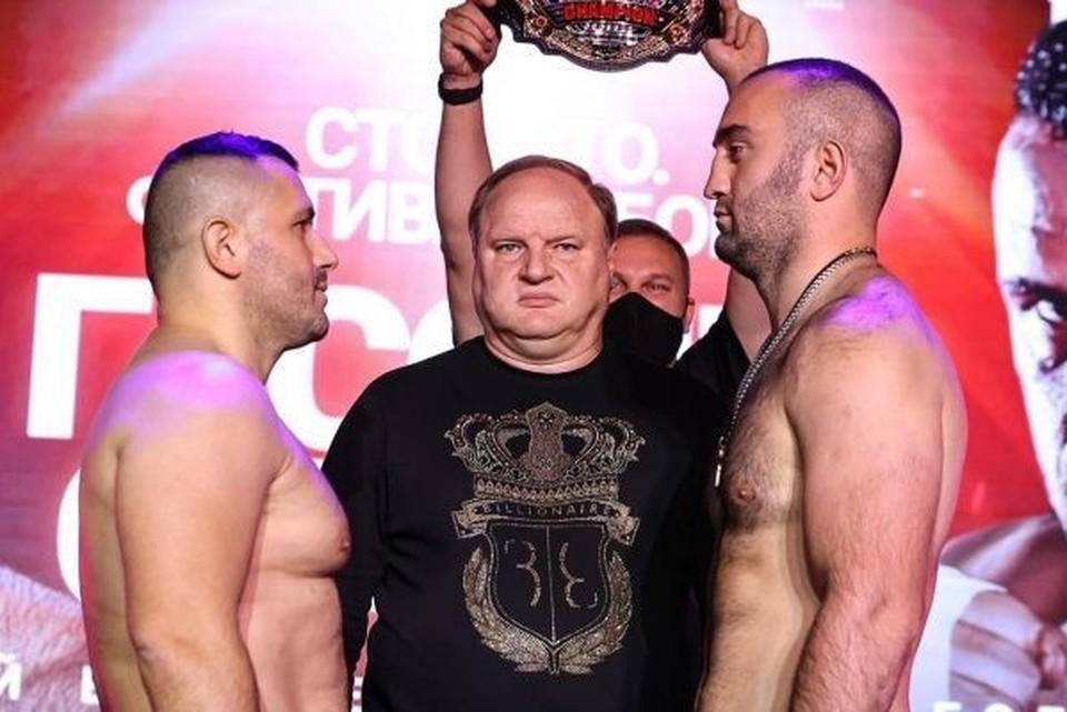Мурат Гассиев против Нури Сефери Фото: Федерация бокса России