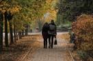 Фоторепортаж: В Донецк пришла настоящая осень