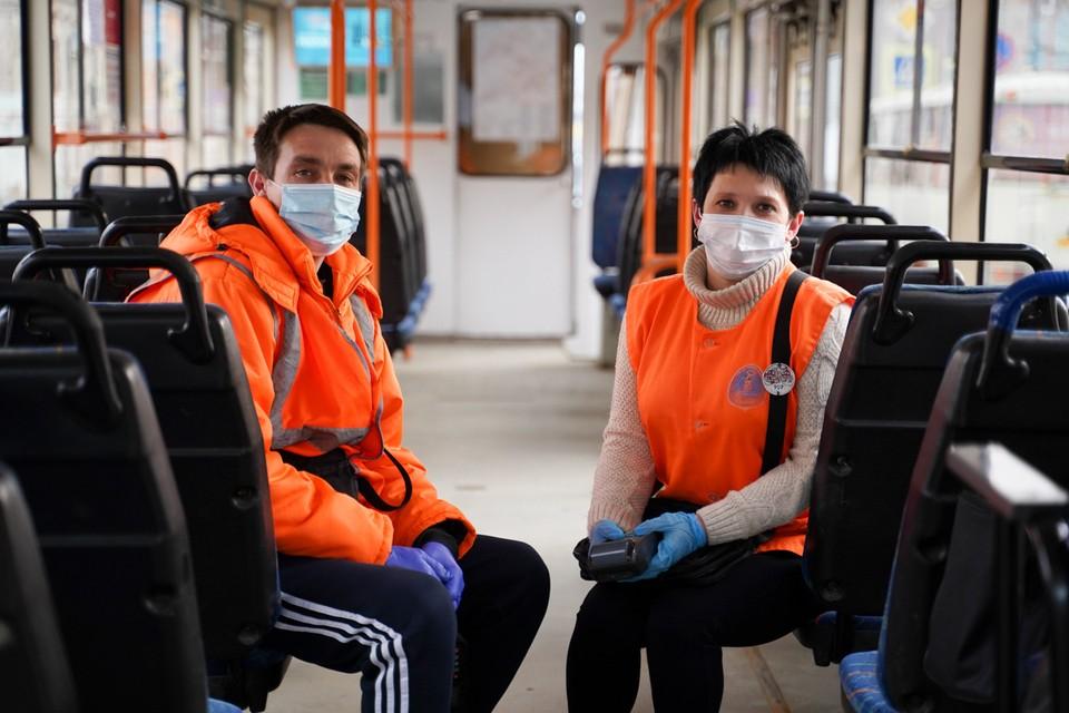 В общественном транспорте, кстати, давно действует масочный режим