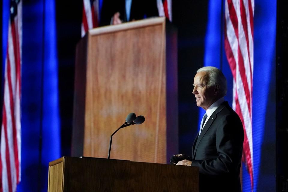 Избранные президент и вице-президент США обратились к нации из родного штата Байдена – Дэлавера