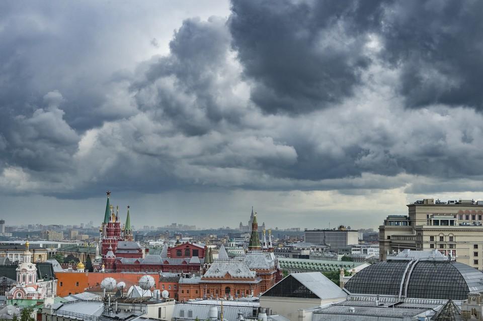 В Москве ожидается сильный ветер.