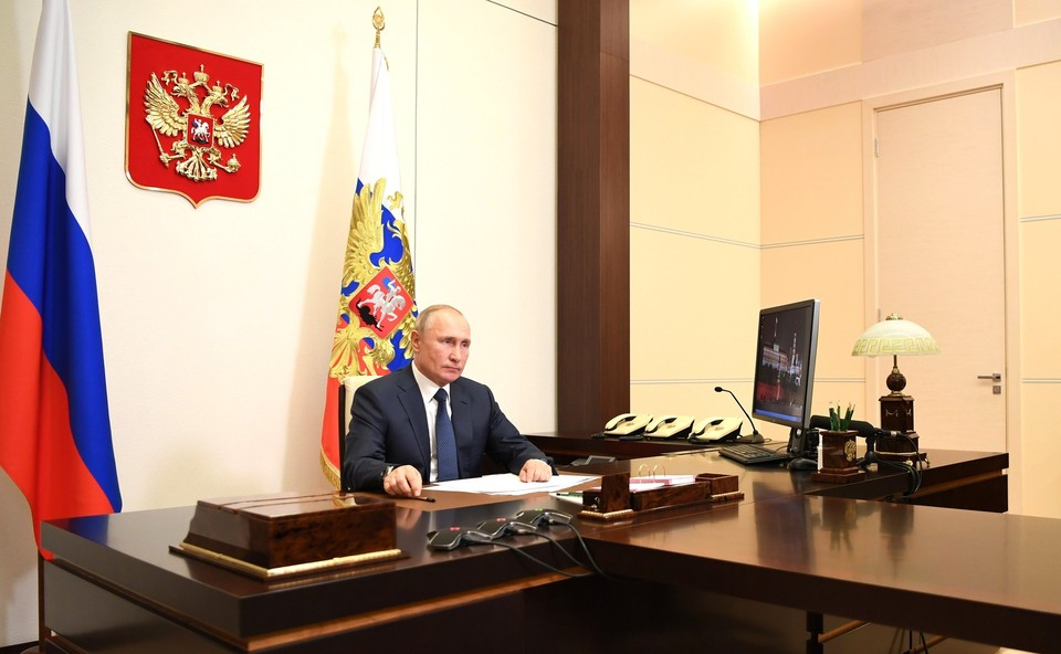 Владимир Путин. Фото: пресс-служба Кремля.