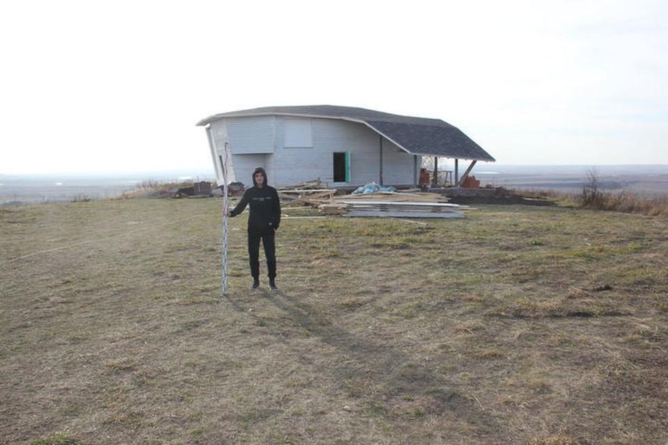 Так сейчас выглядит здание, возникшее на территории Сорвихинского городища под Бирском