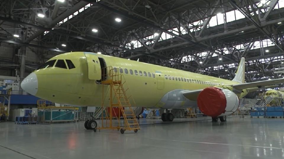 Самолет МС-21-310 пройдет испытания с российским двигателем. Фото: Корпорация «Иркут»