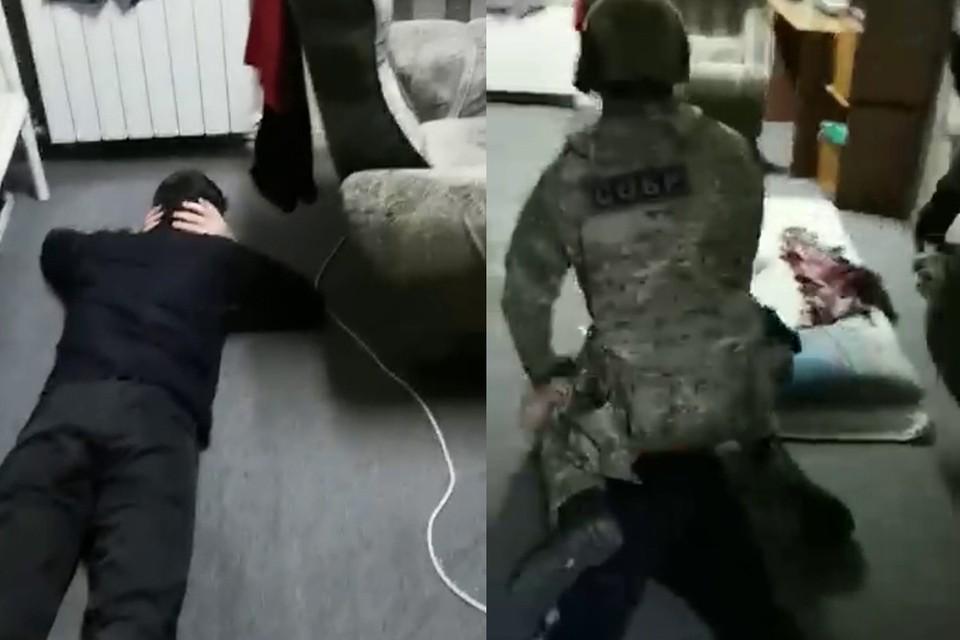 В Красноярске задержали 8 иностранных студентов. Стоп-кадр видео